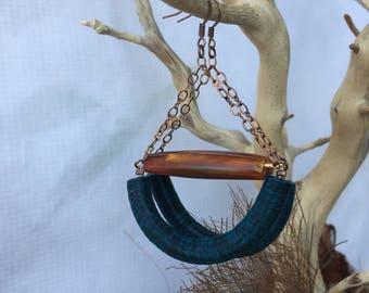 Malawi Tribal Hoops - African Jewelry- Ethnic Jewelry -Tribal Jewelry - Boho Jewelry - Fashion Jewelry