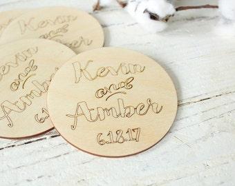 Wedding Coasters Wood Coasters Custom Coasters