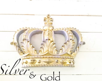 Metal Crown Wall Decor crown wall hanging | etsy
