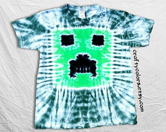 Tie Dye T Shirt Child Size Pixel Block