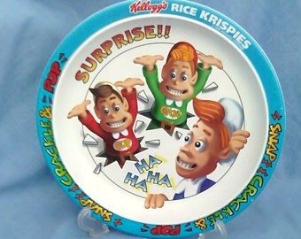 Kellogg's Rice Krispies Melamine Plate - 1996 - Croco London