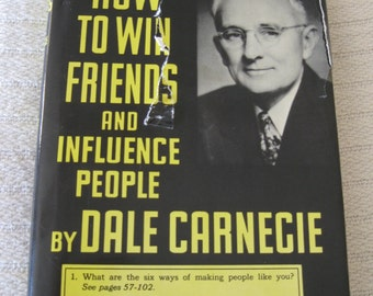 Dale Carnegie Book How To Win Friends And Influence People
