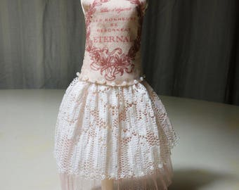 "Blythe Party dress Lace & Beads ""Eternal"""
