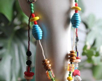 Good News beaded necklace