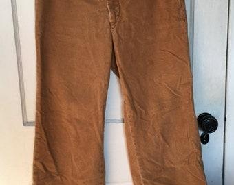 Vintage Corduroy Pants Camel