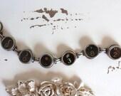 Typewriter Key Bracelet...