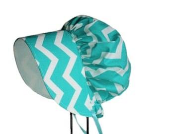 Baby Bonnet, Baby Sun Hat, Modern Bonnet, Baby Girl Sun Bonnet, Summer Hat, Cotton Baby Hat, Toddler Bonnet, Sunbonnet, Made To Order