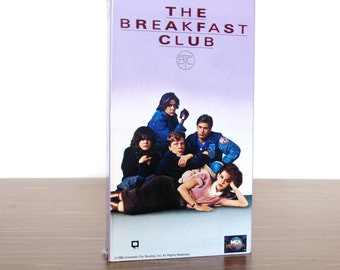 The Breakfast Club VHS Movie Video Cover ARt 1985