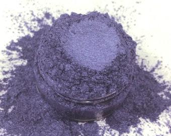 Killer Purple  Eyeshadow Deep Rich  Irridescent Mineral Make up eyeliner 5g Sifter Jar  Eye shadow Petite size Natural Organic Vegan