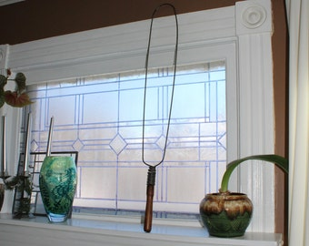 Antique Rug Beater Wire and Wood