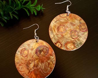 Colorful Copper Earrings