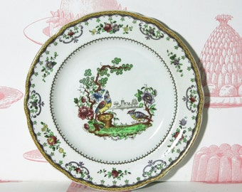 Vintage English Chelsea bird plate from Spode