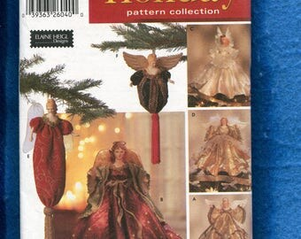 Simplicity 5888 Victorian Holiday Angels Pattern