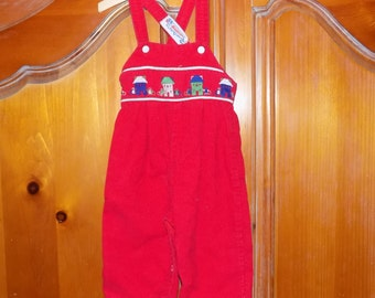 Sz. see description, Vintage Corduroy Overalls