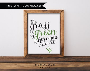 Instant Download, Dorm Wall Art, Wall Art Prints, Home quotes, Quote Prints, Inspirational Printable, Hand Lettered Print, Encouraging quote