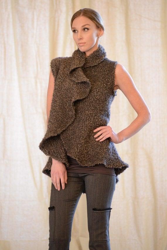 Hug Vest, by Rebecca Bruce, Style J-246 Earth