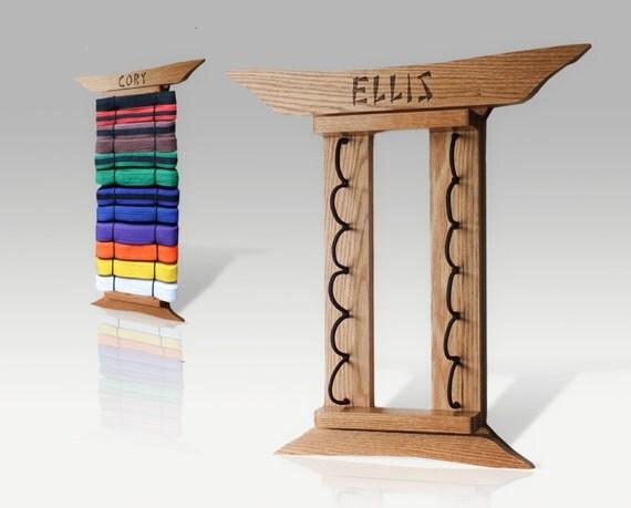 Maple Martial Arts Belt Display Custom By Rozemazingdesigns