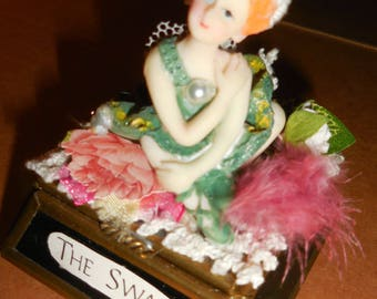 The Swan Ballerina Trinket Box
