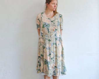 Dress by Givenchy in pastell and flower print