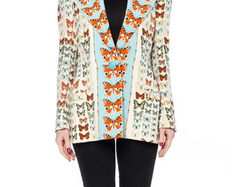 Gianni Versace Couture Butterfly Jacket Size: 4-6