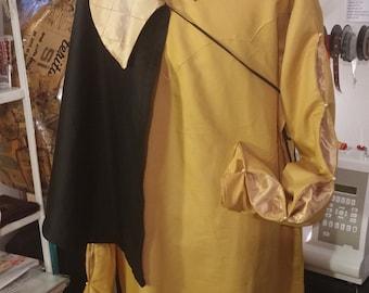 SPECIAL PRICE !!! Ready for Shipping ! Tunic + short cloak, Renaissance, Reenactment Sca Larp, medieval gentlemen