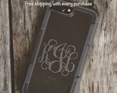 Ships Free! iPhone 7 Plus, iPhone 7 Plus Case Monogram, iPhone 7 Plus Monogram, iPhone 7 Plus Sticker, iPhone 7 Plus Decal