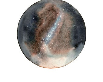 Milky Way Print, Constellation Art, Outer Space Decor, Galaxy Illustration