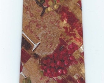 Handmade Wine Necktie