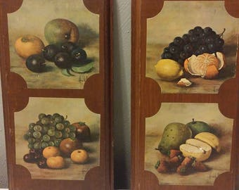 Vintage Kitchen wall plaques