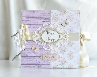Love Scrapbook Album, Family Scrapbook Photo Album, Love Memory Book, Custom Made Love Photo Album, Love Anniversary Wedding Shower Gift
