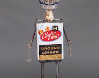 Robot Sculpture - Chef Hal