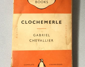 1951 Penguin books, Clochemerle by Gabriel Chevallier