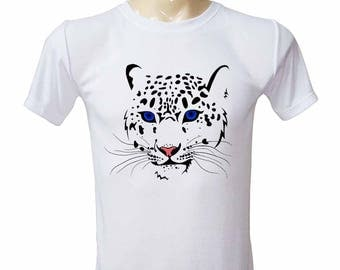 Blue-Eye Leopard Tiger Shirt - Tiger TShirt - Leopard Shirt - Animal T-Shirt- Camping Shirt - Gifts For Men -  Graphic Tee -