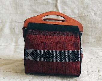 Crimson Dahlia Bag