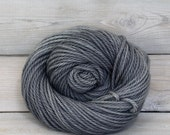 Apollo - Hand Dyed Bulky Superwash Merino Wool Bulky Chunky Yarn - Colorway: Pewter