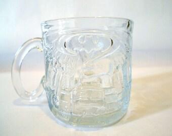 The Riddler BATMAN FOREVER McDonalds Collectable Glass Mug