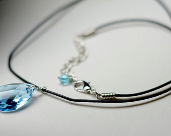Sword Art Online Crystal Yui's Heart Necklace - Swarovski Crystal