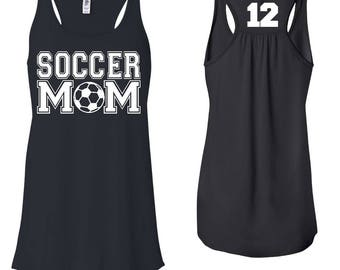 Soccer Mom, Soccer Mom Tank, Soccer Mom Tee, Game Day Shirt, Soccer Mom T shirt, Soccer Mom Shirt, Mom Shirt, Soccer Life, Sports Tee