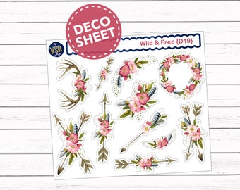 Wild & Free // Deco Sheet {D19}