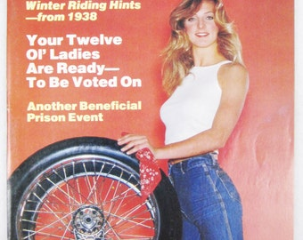 Vintage Easyriders Magazine w/ David Mann Poster March 1980 #81 (mature)