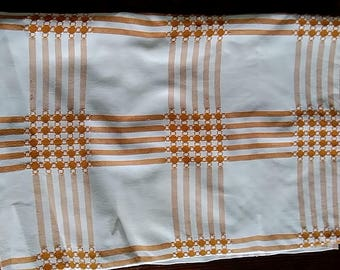 Large Vintage & retro tablecloth - 1970s