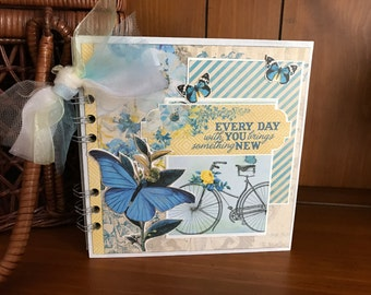 Every Day With You - Mini chipboard album