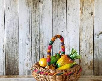 DELIGHTFUL VINTAGE FESTIVE Fruit - 7 pieces