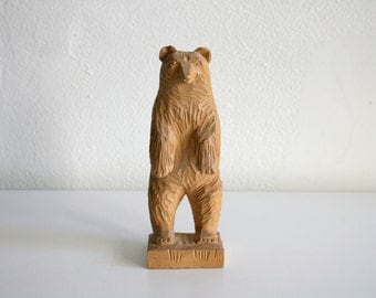 Russian Carved Bear