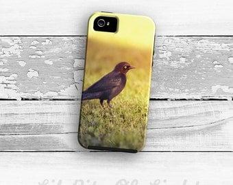 iPhone 6s Case - Nature iPhone 6s Plus Cover - Black bird iPhone 5s Case - Bird iPhone 5C Case - iPhone 5 Case - iPhone 6 Case