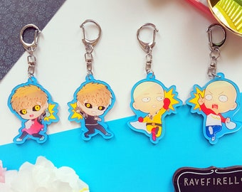One Punch Man Charms
