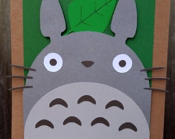 Totoro Inspired Happy Birthday Banner
