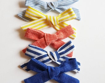 Summer School girl hand tied bows Collection