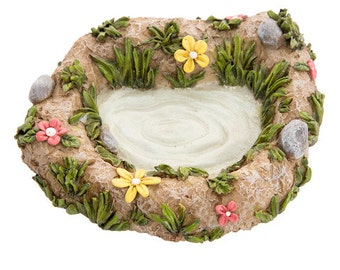 Fairy Garden Lake Pond Pebbles - Miniature Fairy Garden Accessories & Supplies Fairy Garden Water