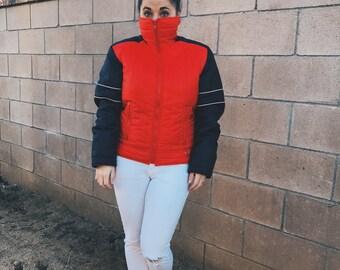 Vintage Puffer Ski Jacket
